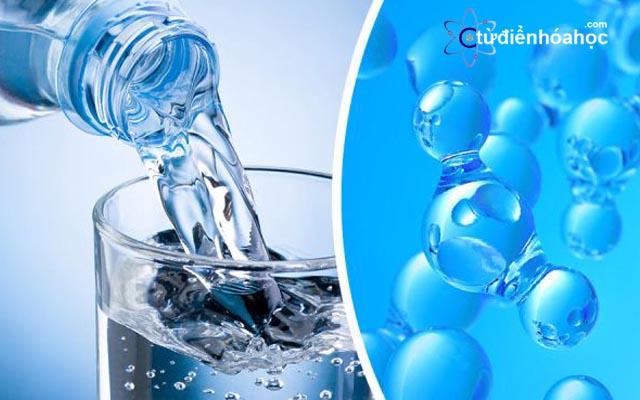 Tính chất hóa học của nước - Tính chất vật lý của nước
